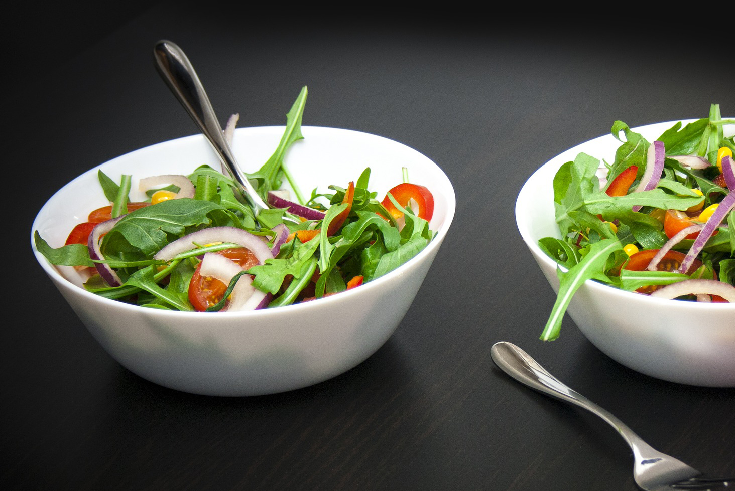 Arugula & Red Onion Salad