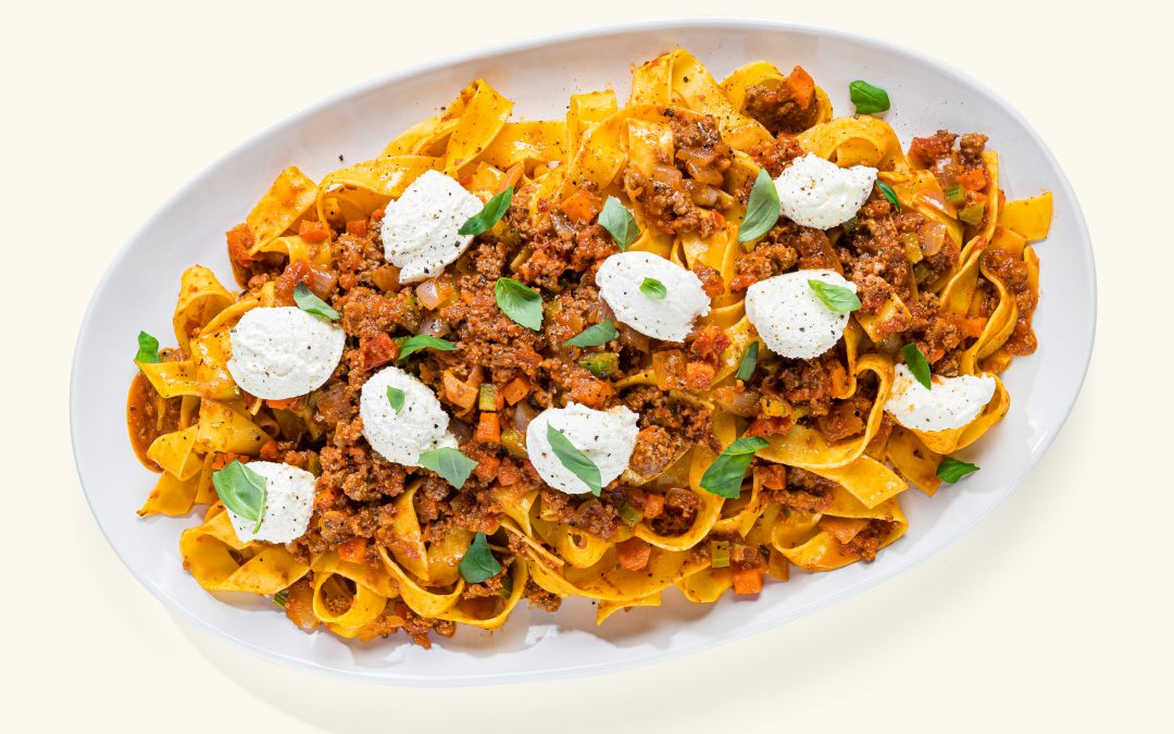 Bolognese Fresh Pappardelle