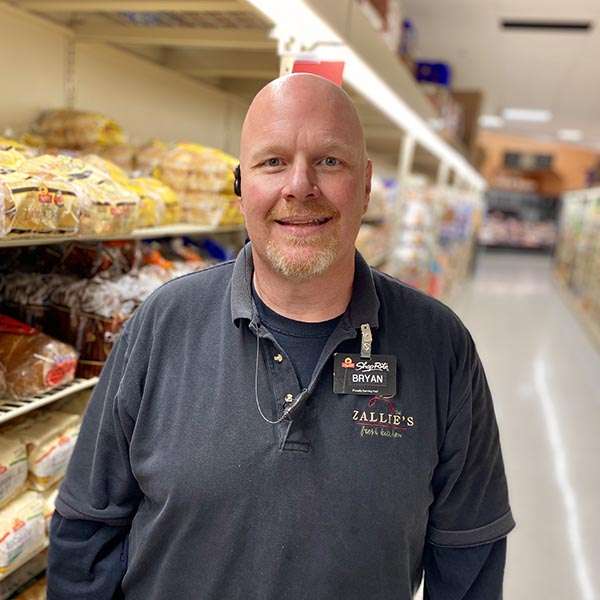 Brian Warsing - Grocery Manager