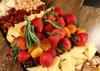 Catering Fruit Cheese Tray
